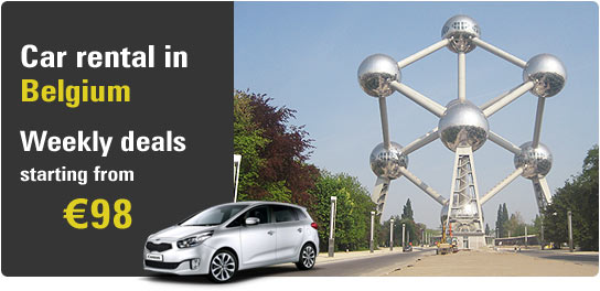Car rental in Belgium