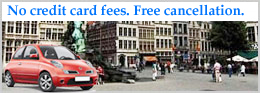 No Credit Card Fees. Free Cancelation