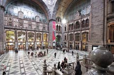 Antwerp Central Railway Station Car Rental